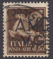 VENEZIA GIULIA, OCCUPAZIONE ANGLOAMERICANA - 1945/1947 - Posta Aerea Unificato 1, Usato. - Usati