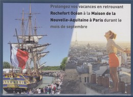 = Rochefort Océan, Maison Nouvelle Aquitaine à Paris, En Septembre, Illustrtion L'Hermione - Manifestations