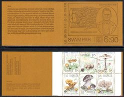 SWEDEN 1978 Fungi Booklet MNH / **.  Michel MH69 - Booklets