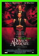 """AFFICHES DE CINÉMA - """" DEVIL'S ADVOCATE """" Taylor Hackford En 1997 - KEANU REEVES & AL PACINO - - Affiches Sur Carte"""