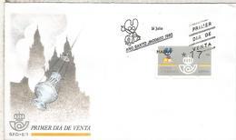 MADRID SPD FC AÑO SANTO JACOBEO ATM 3 DIGITOS KLUSSENDORF - 1931-Today: 2nd Rep - ... Juan Carlos I