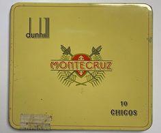 AC - DUNHILL MONTECRUZ CIGAREMPTYTIN BOX FINE CONDITION FOR COLLECTION - Contenitori Di Tabacco (vuoti)