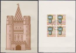 Schweiz 1979 Nr.1154 4er Block Europa PTT Grußkarte Weihnachten ( D 2126 )günstige Versandkosten - Cartas
