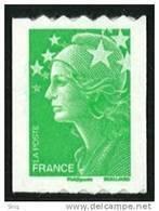 N° 219 (4239) Auto Adhésif Roulette Année 2008, Valeur Faciale Lettre Verte - France