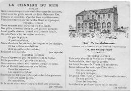 29 PLONEVEZ PORSAY LA CHANSON DU KER COLONIE DU PATRONAGE 174 RUE CHAMPIONNET  LE KER TREZ MALAOUEN - Plonévez-Porzay