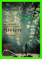 """AFFICHE DE FILM - """" ET AU MILIEU COULE UNE RIVIÈRE """" DE ROBERT REDFORD EN 1992 - - Affiches Sur Carte"""