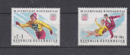 Austria 1976 Olympic Games Innsbruck 2 Stamps MNH/** (H54) - Winter 1976: Innsbruck