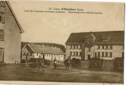 Camp D'elsenborn   25  Cour Des Casernes Et Cuisines Roulantes - Elsenborn (camp)