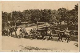 Camp D'elsenborn    14 Artillerie En Marche - Elsenborn (camp)