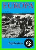 """AFFICHE DE FILM - """" EUROPA """" DE DAVID GREIG, JOACHIM SIEGARD, ODD LARSEN - - Affiches Sur Carte"""