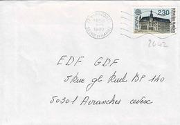 TP N ° 2642 Seul Sur Enveloppe De Varreddes - Marcophilie (Lettres)