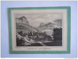 Dépliant Folder Publicité Boisson Chartreuse 6 Pag Form. Fermé 14 X 10,6 Cm - Reclame