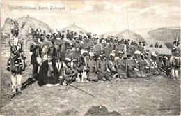 Chief Tetelekas' Band, Zululand - & Nude - South Africa