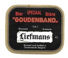 ETIQUETTE BIERE BR. LIEFMANS / GOUDENBAND - OUDENAARDE - Beer