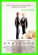 """AFFICHE DE FILM - """" EVERYONE """" A BILL MARCHANT FILM, PARISIEN No 1 - FAUST PRODUCTIONS INC - - Affiches Sur Carte"""