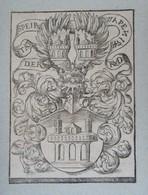 Vignette Héraldique XVIème - SPIRE - Ex-libris