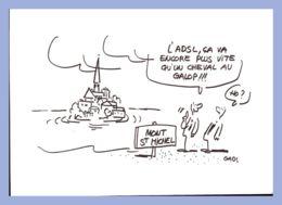 CPM Illustrateur - Gabs - Visualia 2004-1. L'ADSL ça Va Encore Plus Vite Qu'un Cheval Au Galop!!! - Illustrators & Photographers
