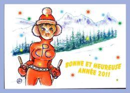 CPM Illustrateur - Géo Thiercy - Bonne Et Heureuse Année 2011 - Illustrators & Photographers