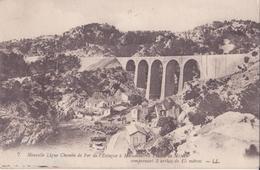 CPA - 7. Nouvelle Ligne Du Chemin De Fer De L'estaque à Miramas - Francia