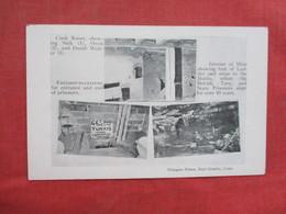 M/V ----Cook Room Entrance To Caverns  Interior Of Mine      Newgate Prison          East Granby Conn.      Ref 3430 - Gevangenis