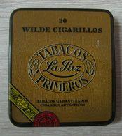 AC - LA PAZ WILDE CIGARILLOS - CIGAR EMPTYTIN BOX FINE CONDITION - Contenitori Di Tabacco (vuoti)