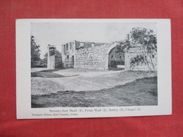 Seventy Foot Shaft   Wall, Sentry  Chapel    Newgate Prison          East Granby Conn.      Ref 3430 - Prison
