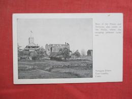 Rear Of Prison     Newgate Prison          East Granby Conn.      Ref 3430 - Prison