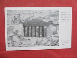 Window Of Sleeping Room    Newgate Prison          East Granby Conn.      Ref 3430 - Gevangenis