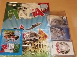 Tutta Italia Album Vuoto+set Completo Figurine Fol Bo 2013 - Stickers