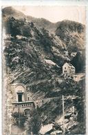 """Carte Photo -  Entrée De L'Usine Souterraine """" La Maison Blanche """" Dans La Vallée Du RIOUMAJOU   - La Vallée D'Aure - - Bâtiments & Architecture"""