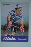 CYCLISME: CYCLISTE : PAOLO ROSOLA - Cyclisme