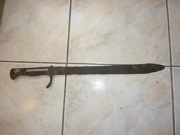 Baionnette Allemande Mauser S98/05 Dents De Scie EPAVE - Knives/Swords