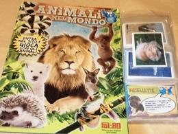 Animali Nel Mondo Album Vuoto+set Completo Figurine Fol Bo 2014 - Stickers