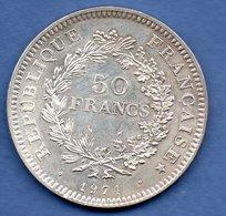 Hercule-  50 Francs 1974  Avers Du 20 Francs   -  état  SUP - France