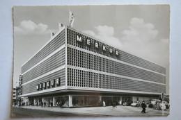 "(11/2/50) Postkarte/AK ""Moers"" Merkur Warenhaus Mit Supermarkt - Moers"