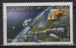 France (2007) - Set -  /  Espace - Space - Satellite - Communications - Espacio