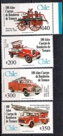 Chile 1999 - MINT - The 100th Anniversary Of Temuco Fire Department - Chile