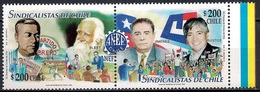 Chile 1999 - MINT - Trade Union Leaders - Chile