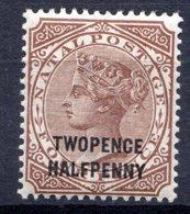 NATAL - (Colonie Britannique) - 1885-91 - N° 53 - 2 1/2 P. S. 4 P. Brun - (Victoria) - Afrique Du Sud (...-1961)