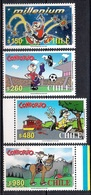 Chile 2000 - MINT - Animation - The 50th Anniversary Of Condorito, Cartoon Character, By Rene Rios - Chile