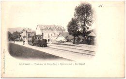 88 GERARDMER - Tramway De Gérardmer à Retournemer - Le Départ - Gerardmer