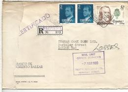 BARCELONA CC CERTIFICADA SELLOS ARTE PINTURA JUAN DE ROSALES RELIGION - 1931-Hoy: 2ª República - ... Juan Carlos I