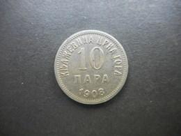 Montenegro 10 Para 1908 - Monnaies