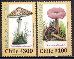 Chile 2001 - MINT - Fungi - Chile