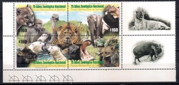 Chile 2001 - MINT - The 75th Anniversary Of Santiago National Zoo - Chile