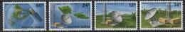 Samoa (1980) Yv. 472/75  /  Espace - Space - Satellite - Spazio