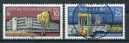 DDR Michel-Nr. 2683-2684 Gestempelt Tagesstempel - Gebraucht
