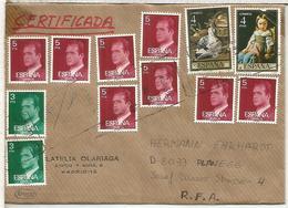 MADRID CC CERTIFICADA SELLOS BASICA ARTE PINTURA - 1931-Hoy: 2ª República - ... Juan Carlos I