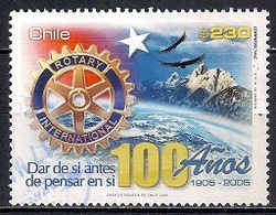 Chile 2005 - The 100th Anniversary Of Rotary International - Chile