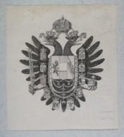 Vignette Héraldique XIXème - Autriche - Ex-libris